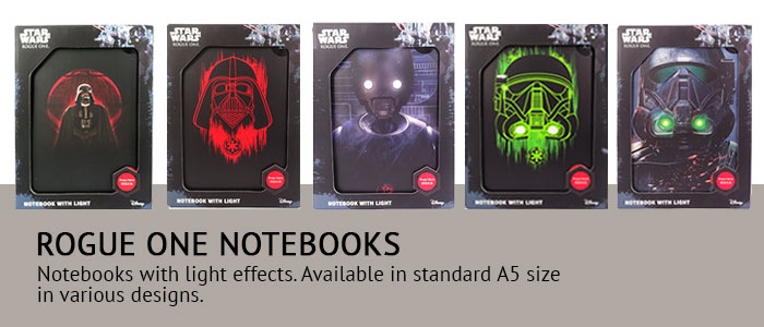 Rogue One Notebooks